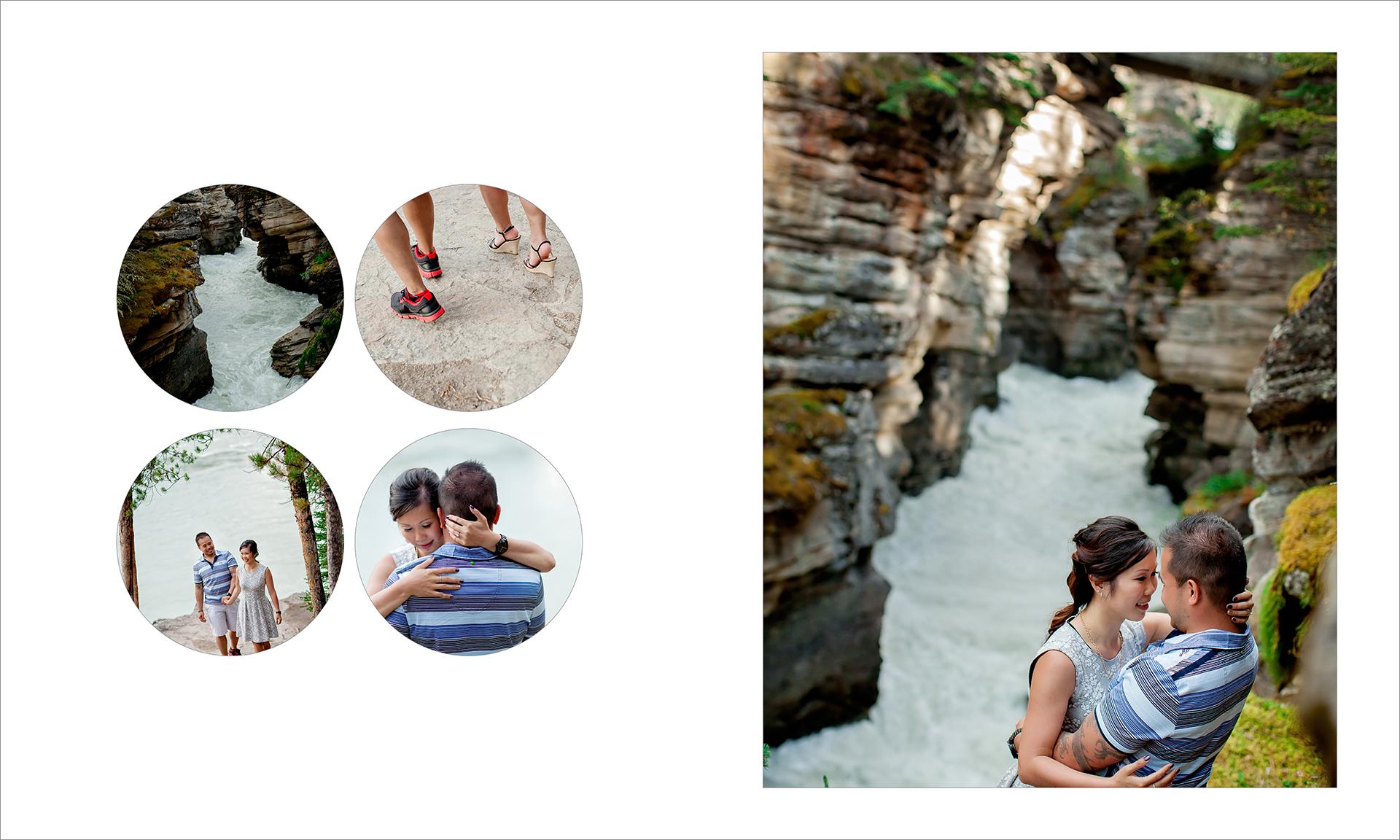 Award winning engagement photography album :: pgs 11-12