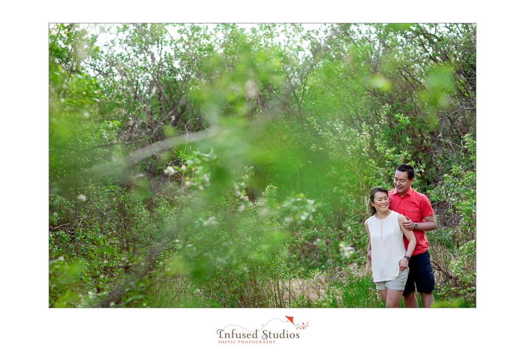 St Albert wedding & engagement photographers :: Rosanna + Chris' outdoor engagement