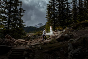 Lake Louise Engagement Photographers