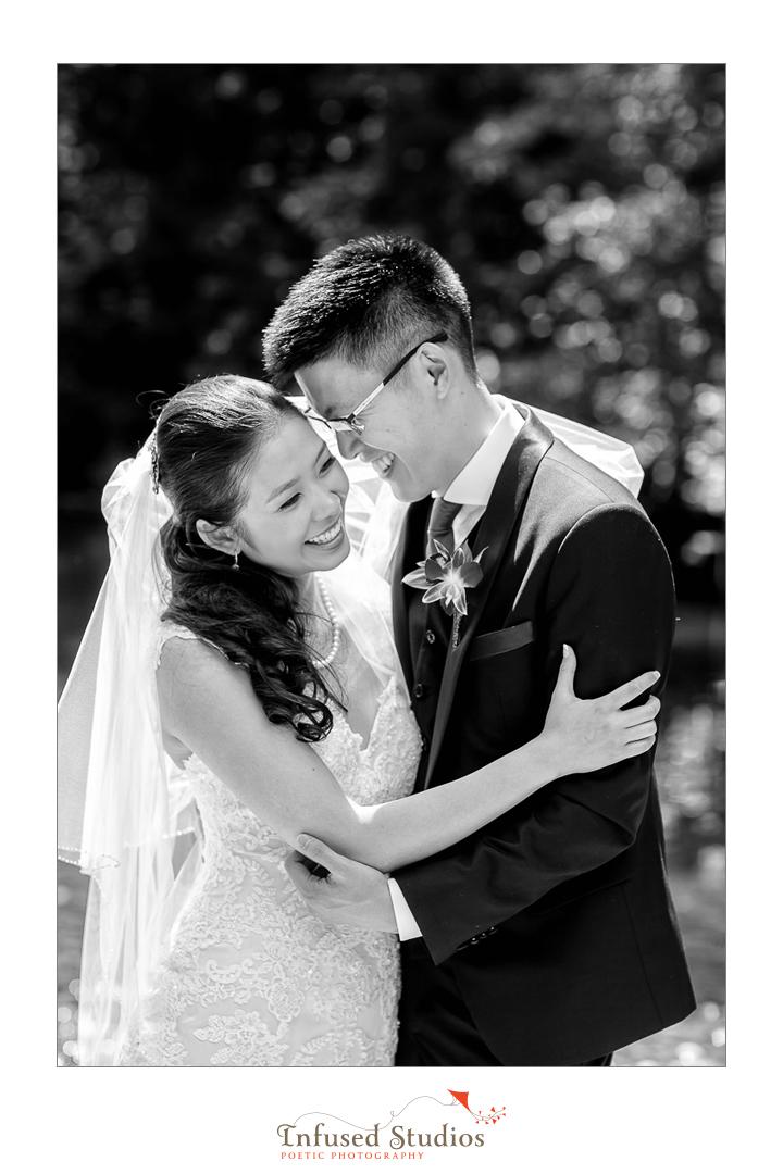 Black & White Edmonton Wedding photography :: Joanna + Charles Edmonton wedding